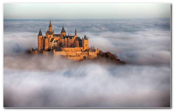 Image Sky Castle Malbork Castle Morning Neuschwanstein Castle