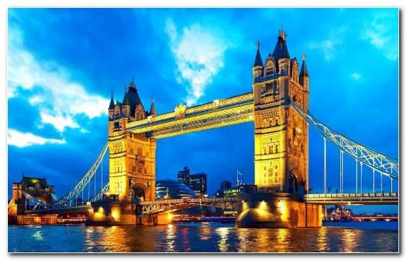 Image Sky Cityscape Manchester Bridge Tourism