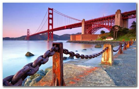 Image Sky Golden Gate Bridge Landmark Sea Tourism