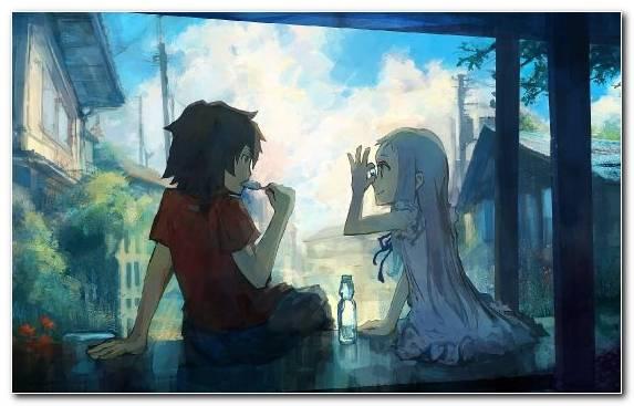 Image Sky Inori Yuzuriha Watercolor Paint Manga Music