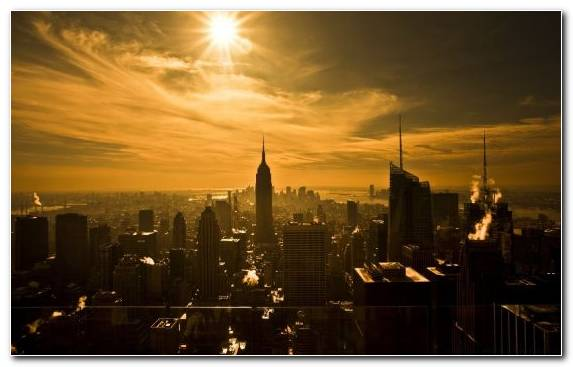 Image Sky Landmark Empire State Building Metropolis Urban Area