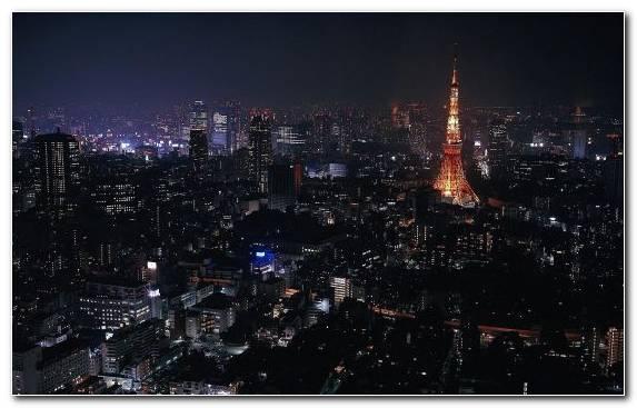 Image Sky Night Skyscraper Cityscape Tokyo