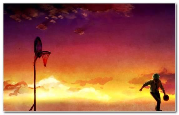 Image Sky Tetsuya Kuroko Evening Manga Atmosphere