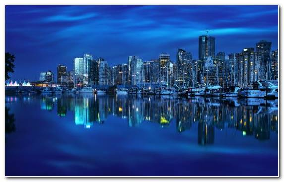 Image Sky Water Capital City Horizon Reflection