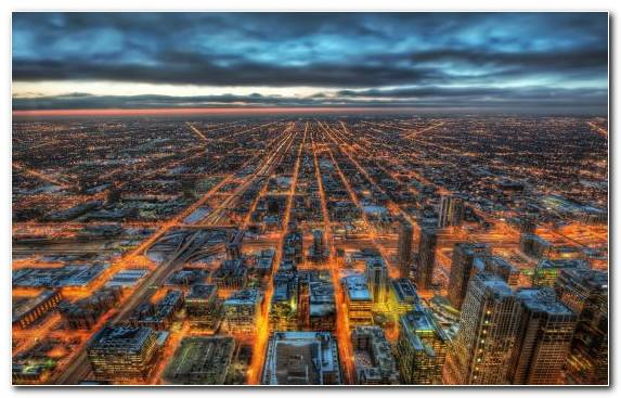 Image Skyline City Skyline Cityscape Willis Tower Los Angeles