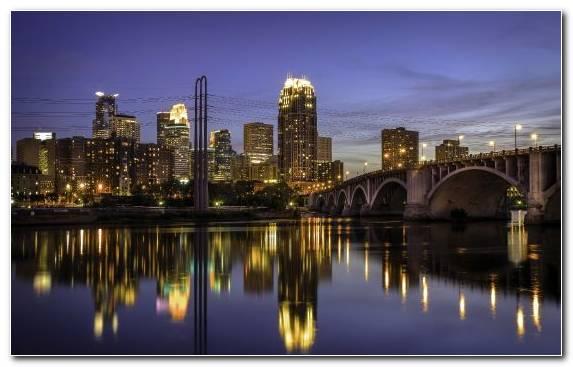Image Skyline Saint Paul Cityscape Metropolis Street