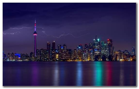 Image Skyline Building Thunderstorm Sky Metropolis
