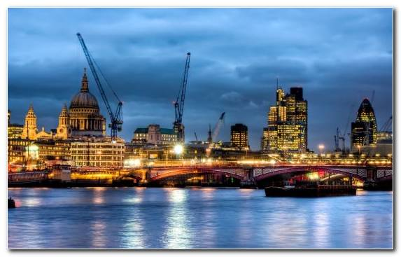 Image Skyline Landmark London Metropolis City