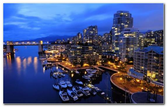 Image Skyline Marina Cityscape Montreal City