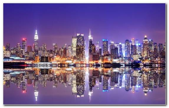 Image Skyline Metropolis Reflection Capital City City