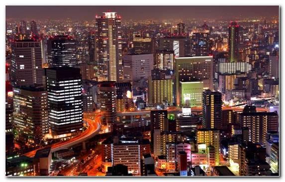 Image skyline night footage cityscape skyscraper