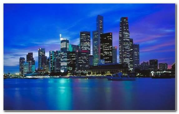 Image Skyline Singapore Skyline Metropolitan Area Landmark Urban Area