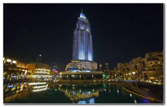 Image Skyscraper Dubai Marina Tower Tourist Attraction Cityscape