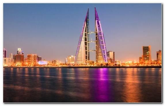 Image Skyscraper Landmark Dubai Metropolis Sky