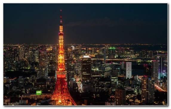 Image Skyscraper Tokyo Tower Cityscape Horizon City