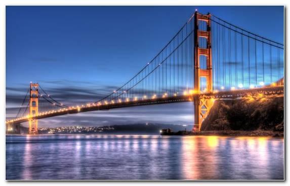 Image skyway extradosed bridge suspension bridge river reflection
