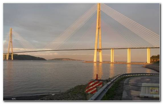 Image Skyway Sky Bridge Suspension Bridge Waterway