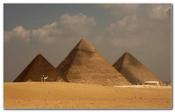 Image Soil Great Pyramid Of Giza Ancient Egypt Landscape Monument