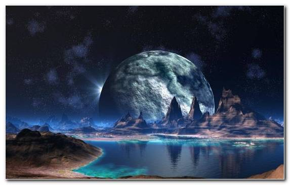 Image Space Earth Outer Space Moon Nature