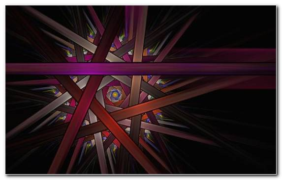 Image Space Fractal Purple Magenta Circle