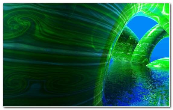 Image Space Graphics Fractal Art Atmosphere Green
