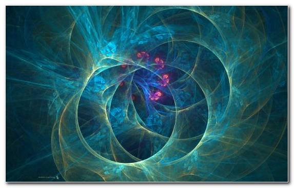 Image Space Mind Electric Blue Blue Circle