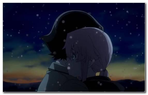 Image Space Yuno Gasai Sky Black Darkness