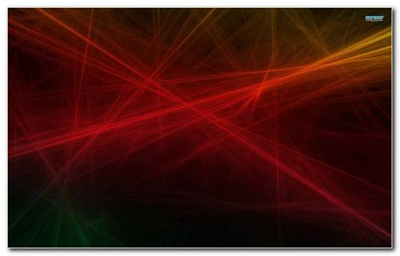Image Special Effects Red Fractal Space Pattern
