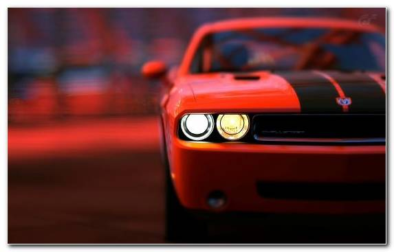 Image Sports Car Dodge Muscle Car Sportscar Red