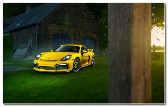 Image Sports Car Porsche Sportscar Porsche 718 Cayman Gt 4
