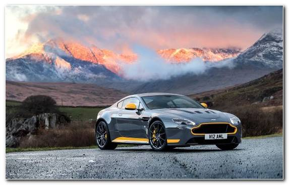 Image Sportscar Aston Martin Sports Car Personal Luxury Car Aston Martin Vantage