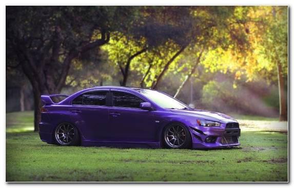 Image sportscar blue mid size car mitsubishi car tuning