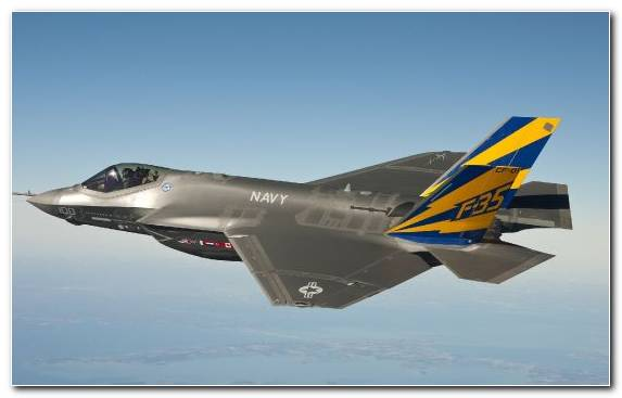 Image Stealth Aircraft Lockheed Martin F 35 Lightning Ii Airplane Flight Military Aircraft