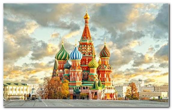 Image Steeple Building City Capital City Red Square