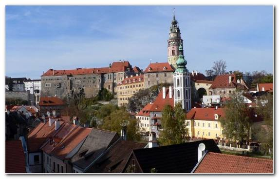 Image steeple roof city medieval architecture Czech Republic