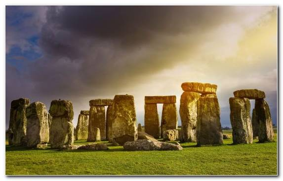 Image Stonehenge Landmark Rock Ruins Historic Site