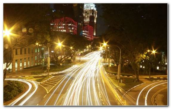 Image street light capital city night landmark light