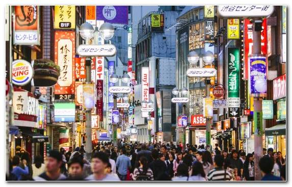 Image street tokyo japan city travel tokyo