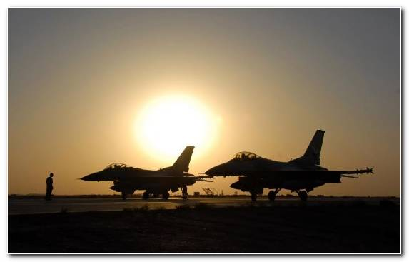 Image sunset military aircraft fighter aircraft aerospace engineering airplane