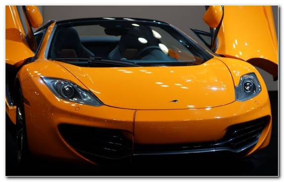 Image Supercar Yellow Mclaren Mclaren Automotive Auto Show