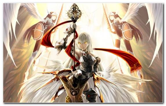 Image Supernatural Creature Anime Angel Mythical Creature Fictional Character