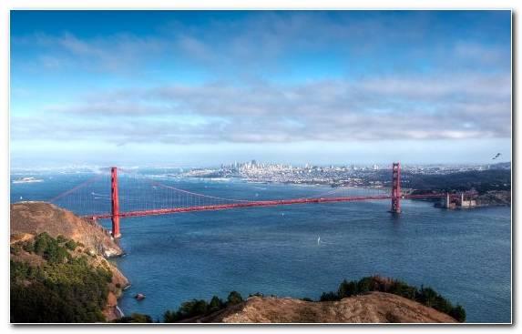 Image suspension bridge headland sky cloud extradosed bridge
