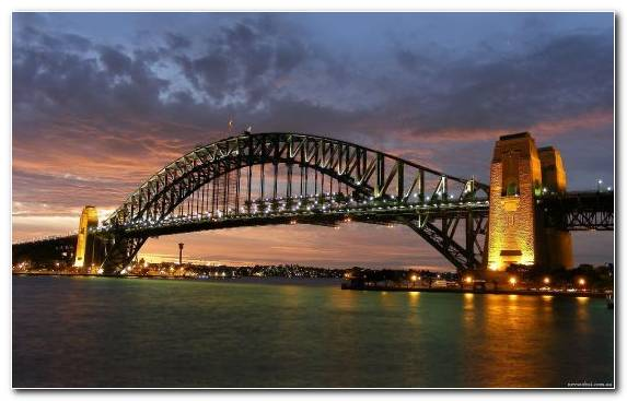Image Sydney Opera House Reflection Landmark Sydney Harbour Bridge Cityscape