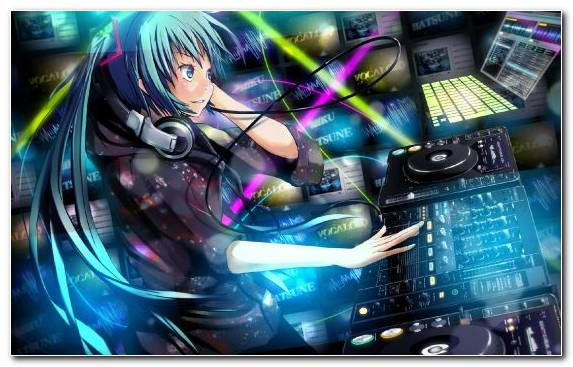 Image Technology Anime Pc Game Anime Music Video Purple