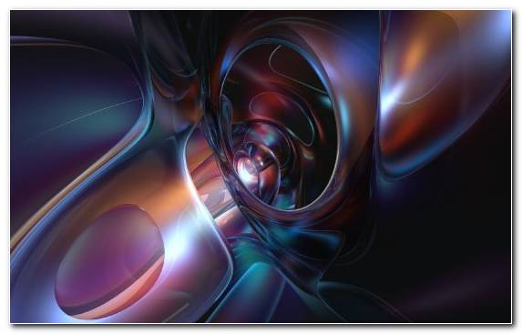 Image Three Dimensional Space Graphics Purple Anime Close Up