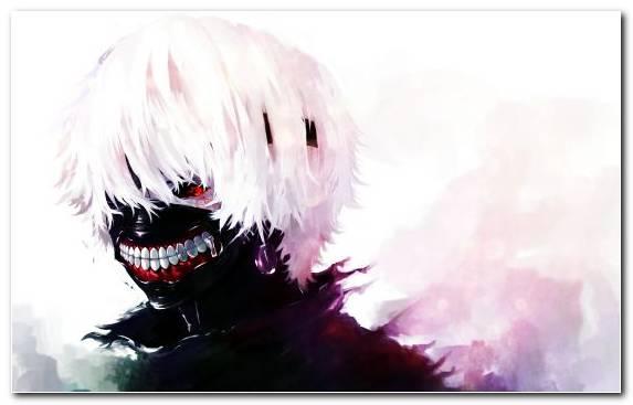 Image Tokyo Ghoul Mouth Anime Sky Ken Kaneki