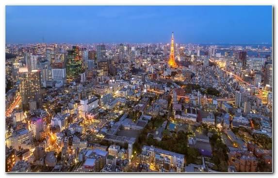 Image Tokyo Metropolis Sky Cityscape Horizon