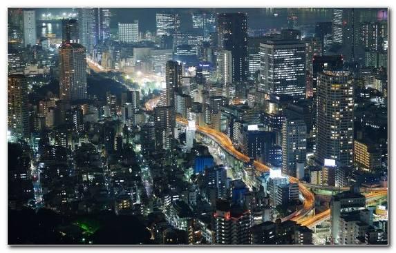 Image Tokyo Metropolis Urban Area Skyline Horizon