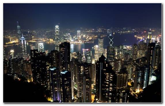 Image Tokyo Skyline Hong Kong Horizon Skyscraper