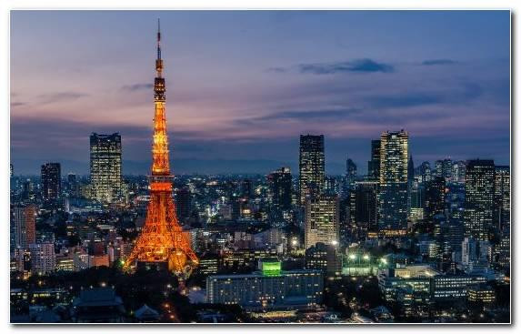 Image Tourism Cityscape Tokyo Tower Landmark City